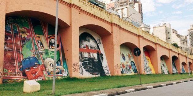 João Doria vai apagar grafites dos 'Arcos do