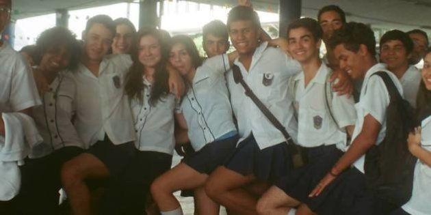 Colégio tradicional do Rio, Pedro II libera uso de saias para