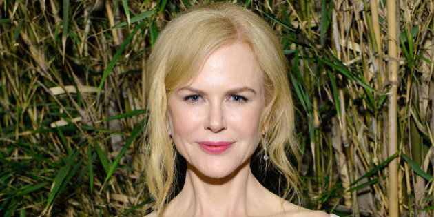 LOS ANGELES, CA - JANUARY 14: Actress Nicole Kidman attends ELLE's Annual Women In Television Celebration...