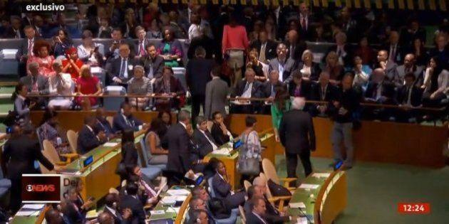 Delegações da Venezuela e Equador deixam plenário da ONU antes de fala de