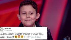 'Miniatura de José Rico' faz fofurômetro explodir pela 1ª vez no novo The Voice