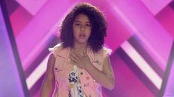 Ela tossiu ao se apresentar no 'The Voice Kids' e Ivete Sangalo deu uma aula de