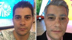 Evaristo Costa ficou 40 anos mais velho no 'Fantástico' e pegou todo mundo de