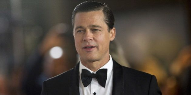 Cast member Brad Pitt attends the premiere