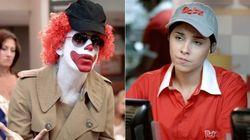 ASSISTA: Ronald McDonald's tenta roubar milk-shake do Bob's no Porta dos