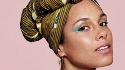 Alicia Keys está deslumbrante (e com maquiagem) na capa da revista