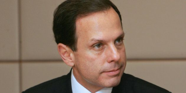 João Dória Junior, the host of the television reality show at APRENDIZ 2010 (Brazil), Columnist at...
