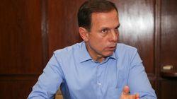 Doria assina decreto que permite retirar cobertores de pessoas em situação de