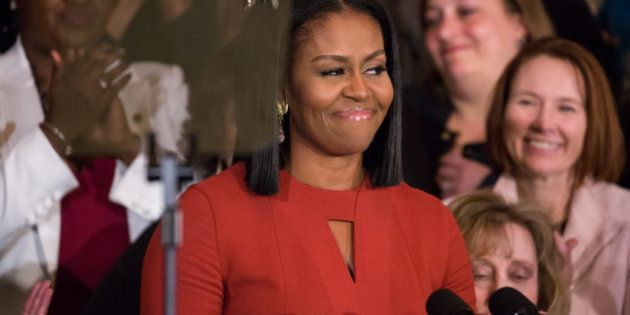 On Friday, January 6 in Washington D.C., USA , a teary-eyed First Lady Michelle Obama delivered her final...