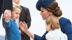 William e Kate desembarcam no Canadá, na primeira viagem de