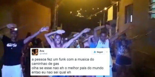 O 'Funk do gás' é a prova de que o brasileiro se diverte com QUALQUER coisa