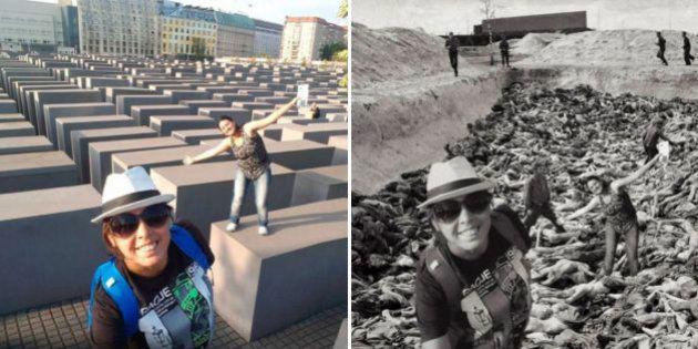 Yolocaust: O projeto do israelense que questiona fotos no Memorial do
