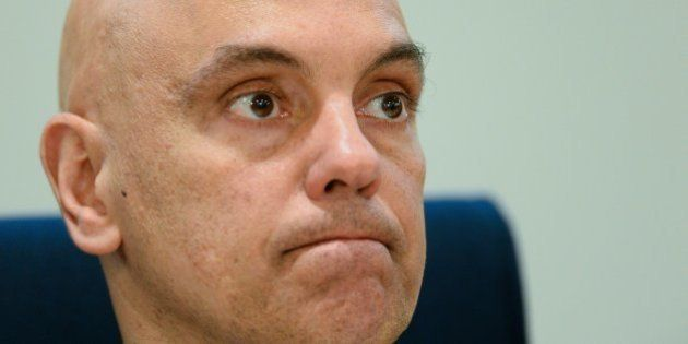 Brazilian Justice Minister Alexandre de Moraes attends the inauguratioon ceremony of International Police...