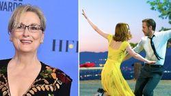 Meryl Streep concorre pela 20º vez e 'La La Land' lidera com 14 indicações ao Oscar