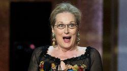 Meryl Streep agradeceu a 20ª indicação ao Oscar com um GIF