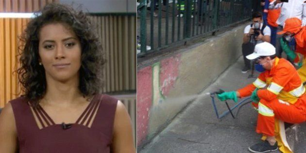 Âncora da GloboNews critica remoção de grafite em São Paulo: 'Atitude autoritária da