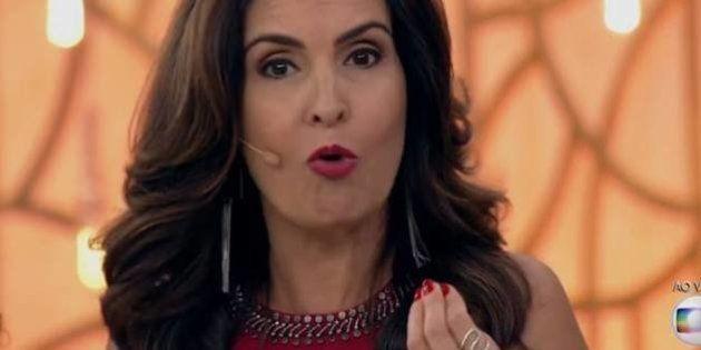 A Fátima falou um monte no 'Encontro' sobre Doria ter apagado os grafites da 23 de