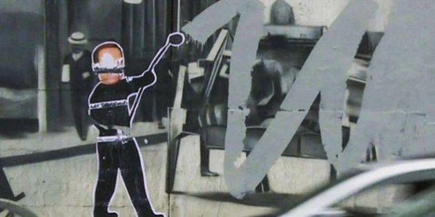 O dia em que um grafite de Kobra foi coberto por uma imagem de