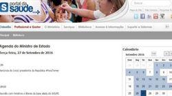 Site do Ministério da Saúde é hackeado com críticas a