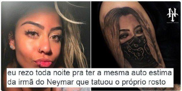 Rafaella Santos tatua o próprio rosto e brasileiros desejam ter a mesma autoestima em