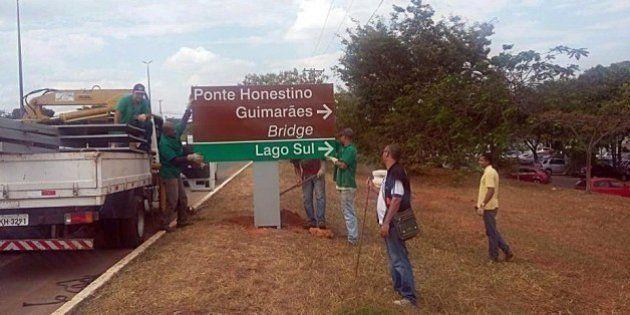 Ponte no DF deixará de homenagear estudante morto na