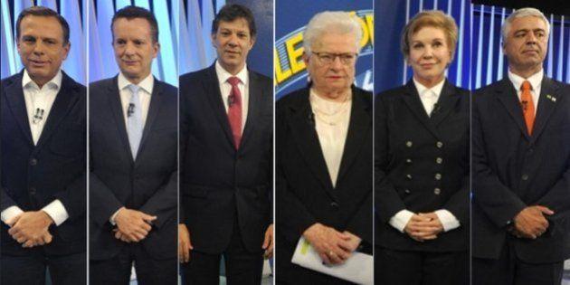 Debate da Globo definiu qual tipo de prefeito você quer para a cidade de São