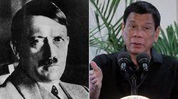 Oi? Presidente das Filipinas se compara a Hitler e fala em 'massacrar' viciados em