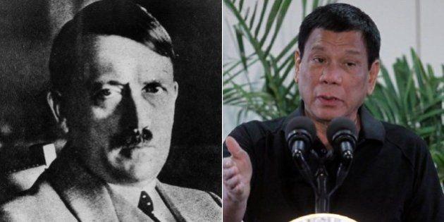 Rodrigo Duterte, líder das Filipinas, se compara ao ditador Adolf Hitler e fala em 'massacrar' viciados...