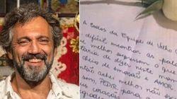 Família de Domingos Montagner escreve carta emocionante ao elenco de 'Velho