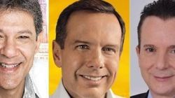 Datafolha: Doria lidera com 44%. Haddad sobe e embola a 2ª