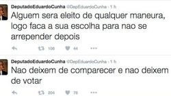 Cunha quer que você vote consciente: 'Escolha para não se arrepender