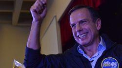 Doria faz 'dobradinha' com Alckmin, votam juntos e vão à