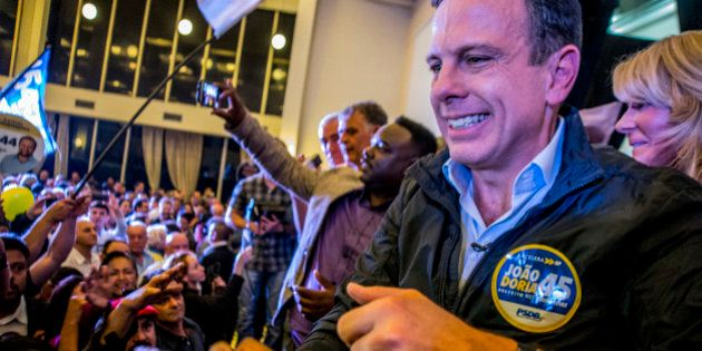 The PSDB party right candidate, João Doria, grew to 28% of the vote, taking the lead in the race for...