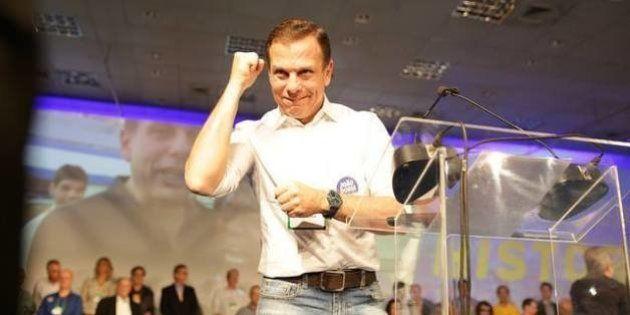 Eleito, João Doria promete 'reconduzir São Paulo ao papel que a cidade