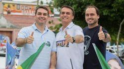 'Testado para 2018': Bolsonaro comemora resultado dos filhos nas