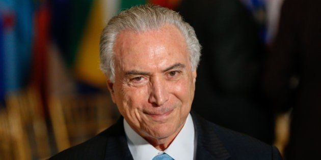 NEW YORK, Sept. 21, 2016 -- Brazilian President Michel Temer is pictured during the annual world leader...