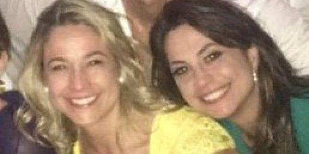 Namore alguém que olhe para você como Priscila Montandon olha para Fernanda