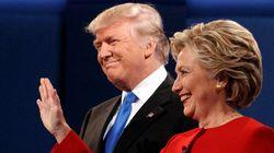 Os erros de Donald Trump podem ser um suspiro de alívio para Hillary