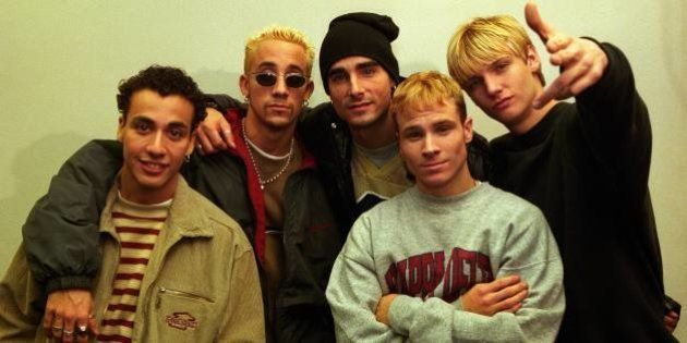 NETHERLANDS - DECEMBER 09: Photo of BACKSTREET BOYS; L-R: Howie Dorough, AJ McLean, Kevin Richardson,...