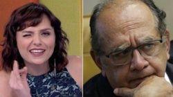 Gilmar Mendes vai doar indenização de Monica Iozzi para