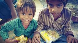 Nada de sobras: Food truck na Índia doa refeições
