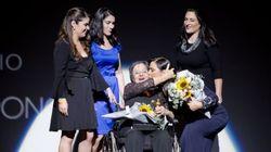O dia emocionante em que Luiza Brunet abraçou e homenageou Maria da