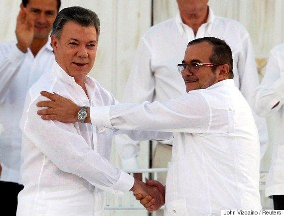 Presidente da Colômbia, Juan Manuel Santos, ganha o Nobel da