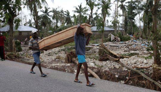 FOTOS: A força do furacão Matthew, que assolou o Haiti e chegou aos
