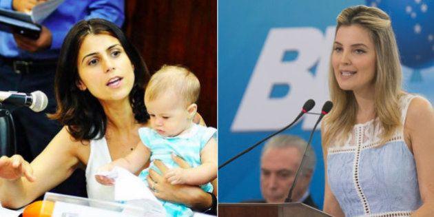 Manuela D'Ávila: 'Marcela, vem lutar para que mulheres e homens possam cuidar mais de seus