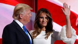 Melania Trump sobre fala do marido: