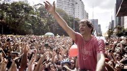 'São Paulo não está à venda', diz Haddad em rolê na Paulista para agradecer seu