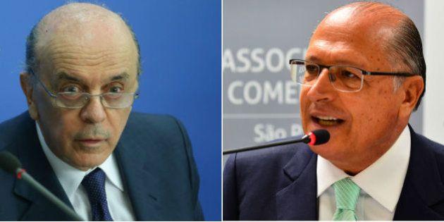 Serra e Alckmin são alvos de futura delação de empreiteiros na Lava
