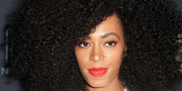 NEW YORK, NY - FEBRUARY 12: Solange Knowles attends 'Beyonce: Life Is But A Dream' New York Premiere...