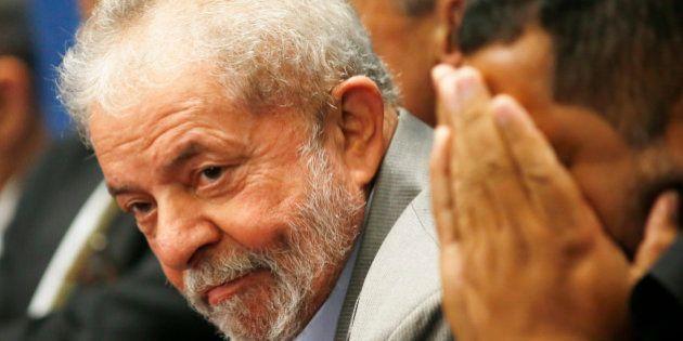 BRASILIA, BRAZIL - AUGUST 29: Former Brazilian President Luiz Inacio Lula da Silva attends the impeachment...